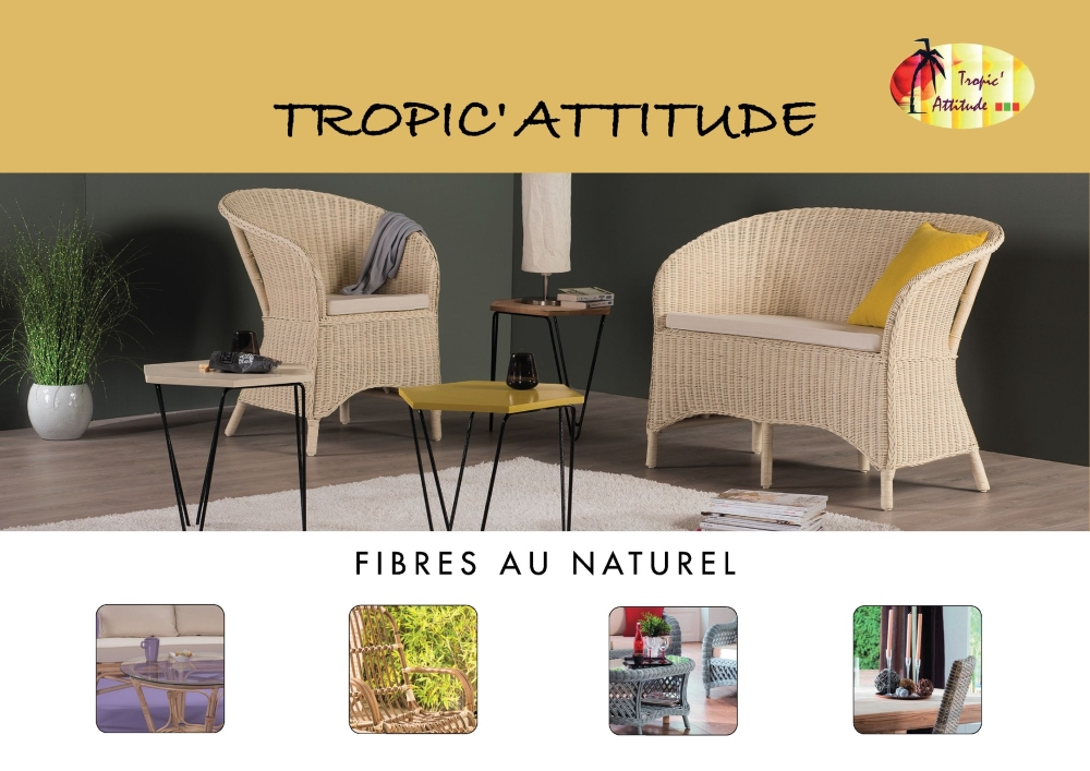 Tropic' Attitude - catalogue fibres au naturel